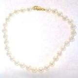 Bracelet perles or jaune, réf. 824
